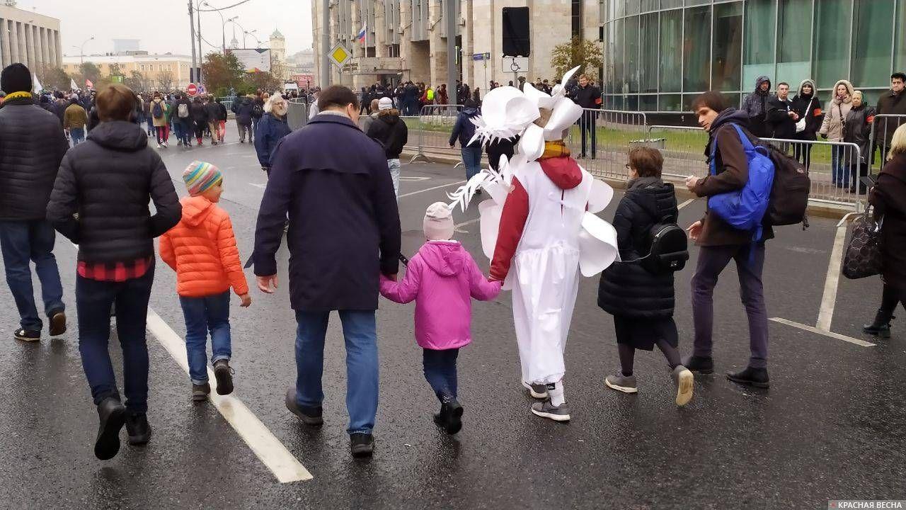 Митинг как праздник