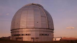 Большой Альт-азимутальный телескоп (телескоп БТА) в Специальной астрофизической обсерватории РАН
