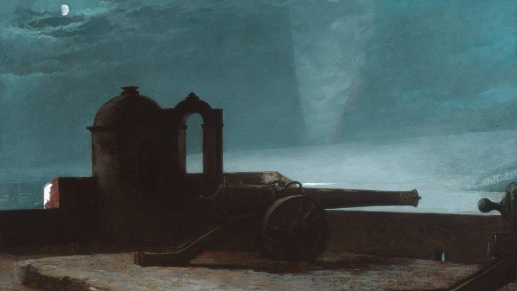 Уинслоу Хомер. Свет на входе в гавань. 1901