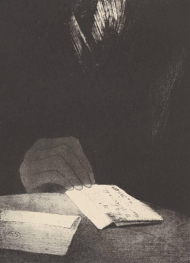 Одилон Редон. По всей видимости, эта рука, как и моя, была из плоти и крови. 1896