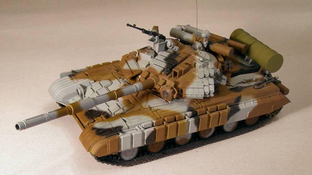 Модель Т-64БВ