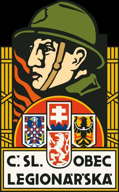 Символика общества чехословацких легионеров