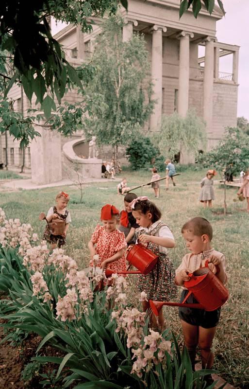 Семён Фридлянд. Киев, в детском саду завода Арсенал
