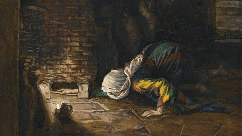 Тиссо Джеймс. Потерянная монетка. 1894