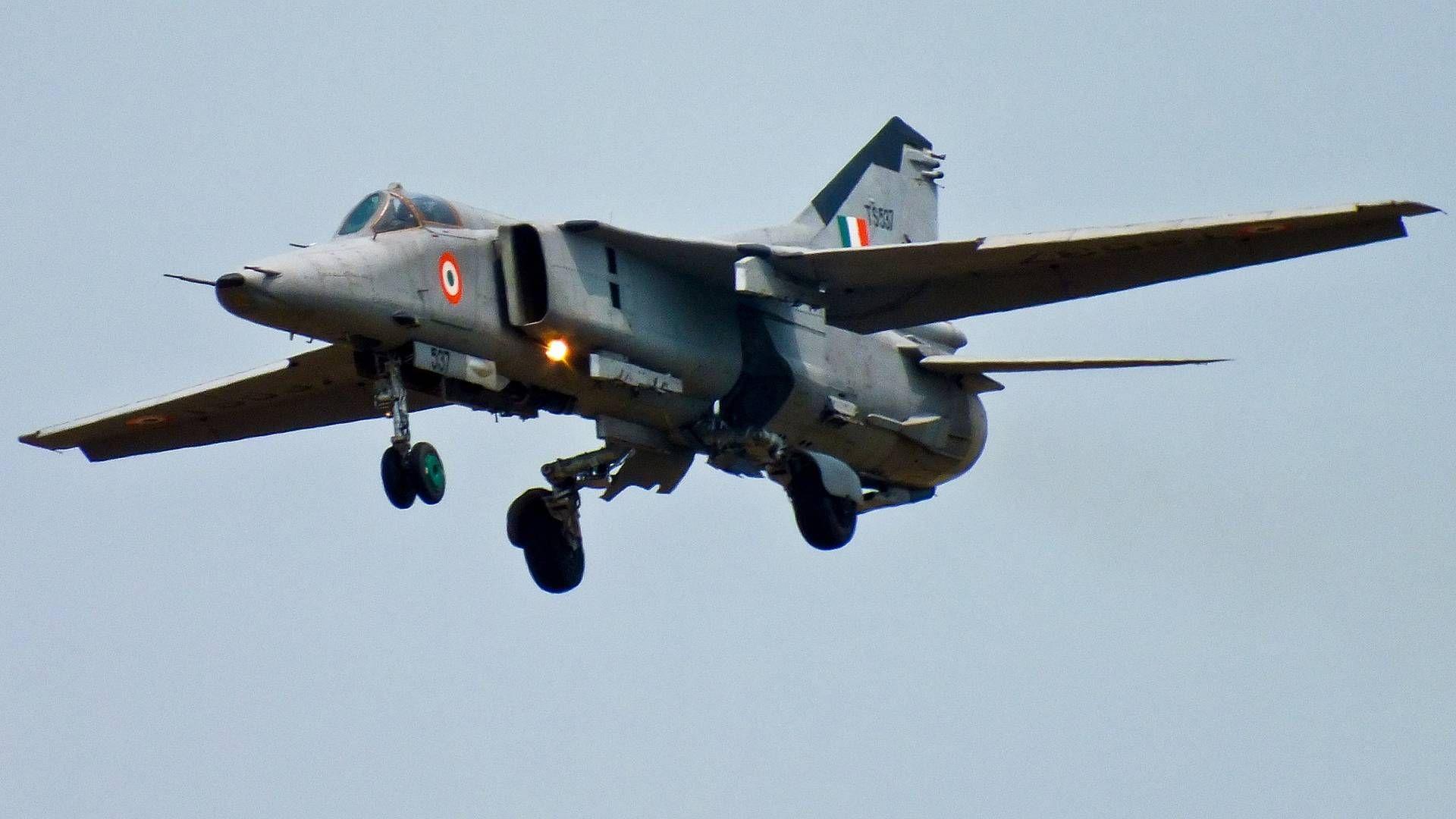 МиГ-27 ВВС Индии