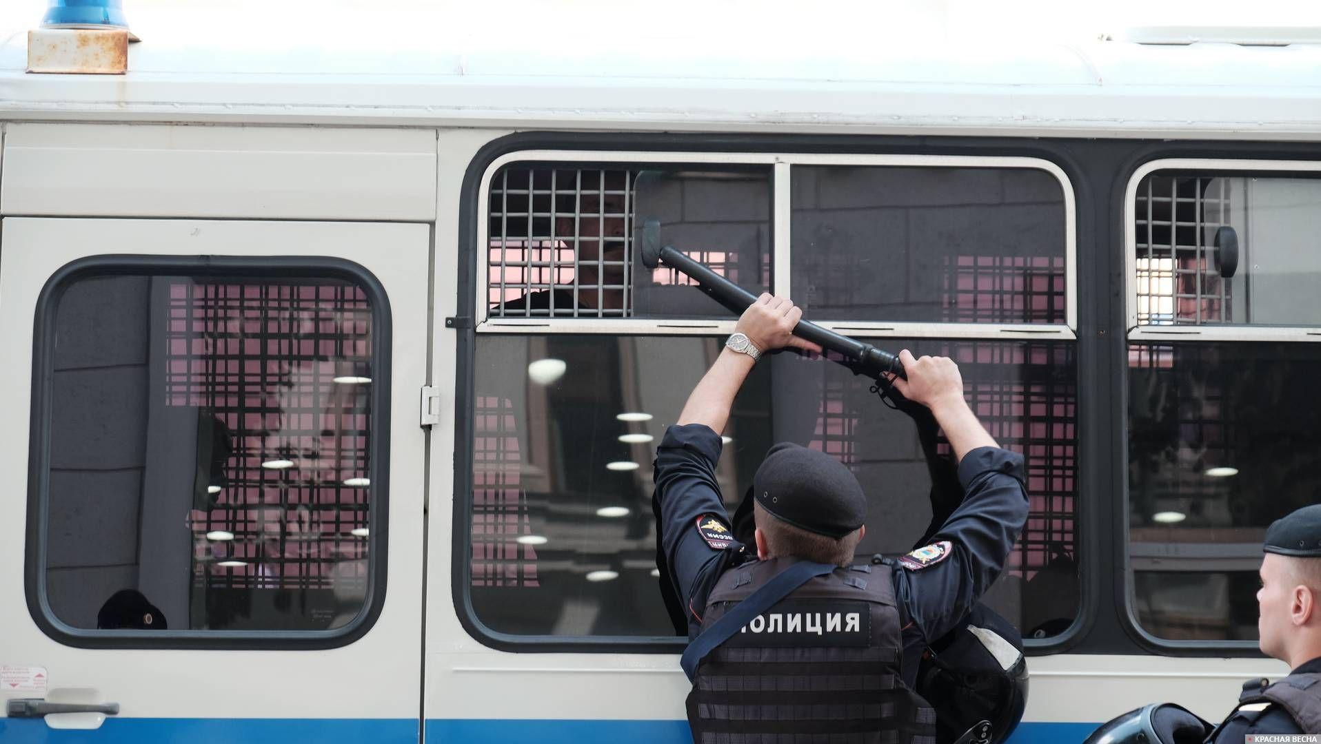 Оппозиционный митинг на Тверской