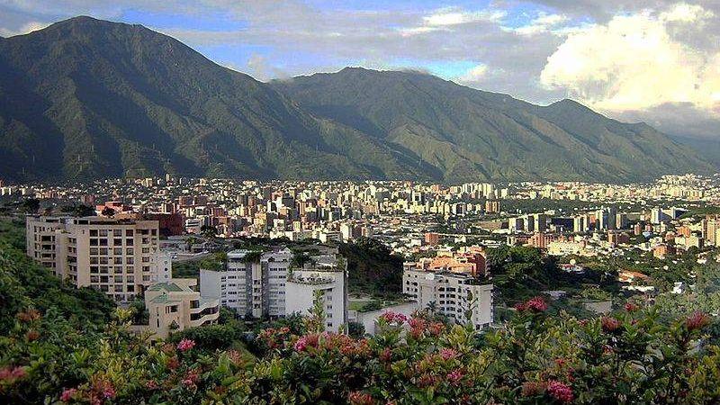 Вид на Восток Каракаса