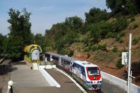 Детская железная дорога имени П.А. Кобозева в городе Оренбурге