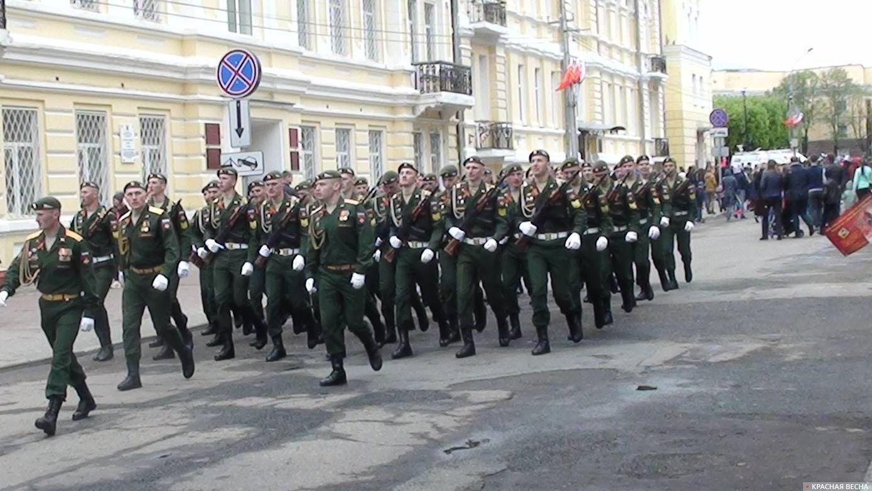 Смоленск. На Параде Победы.