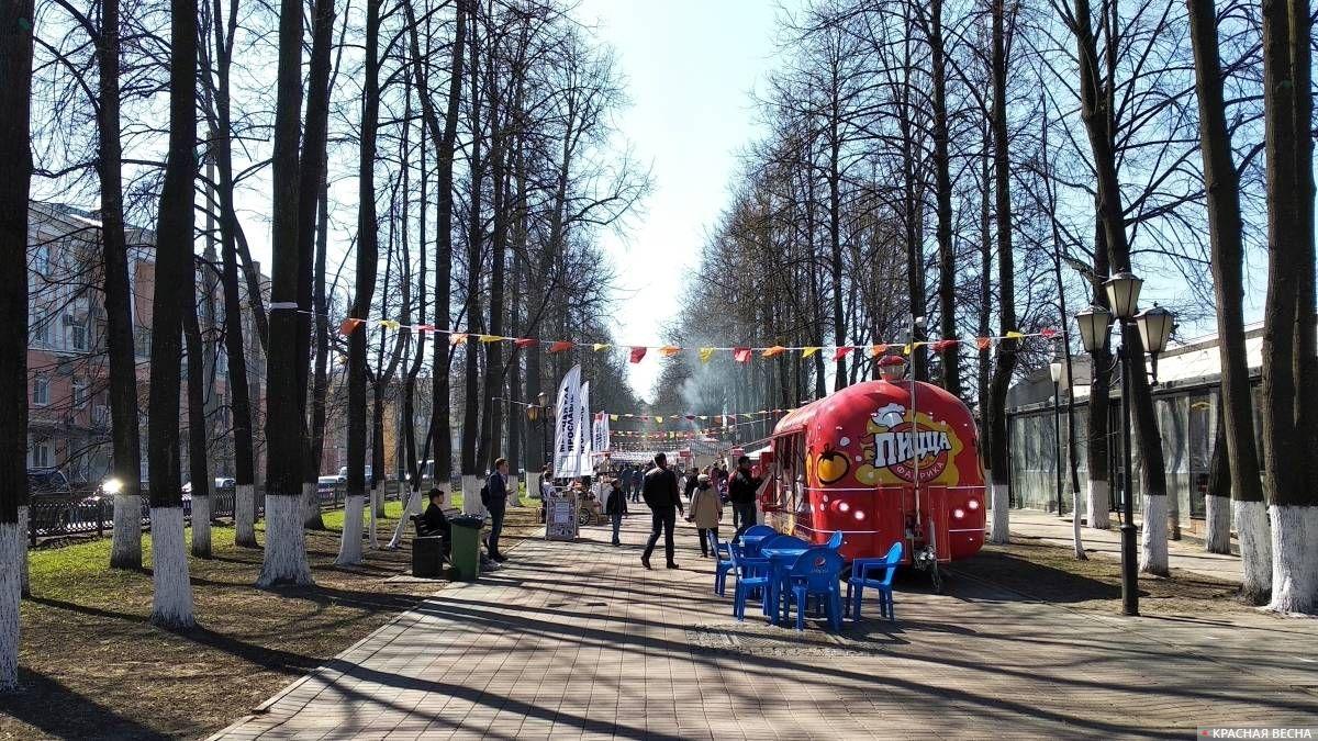 Праздник живота на Первомайском бульваре. 1 мая 2019