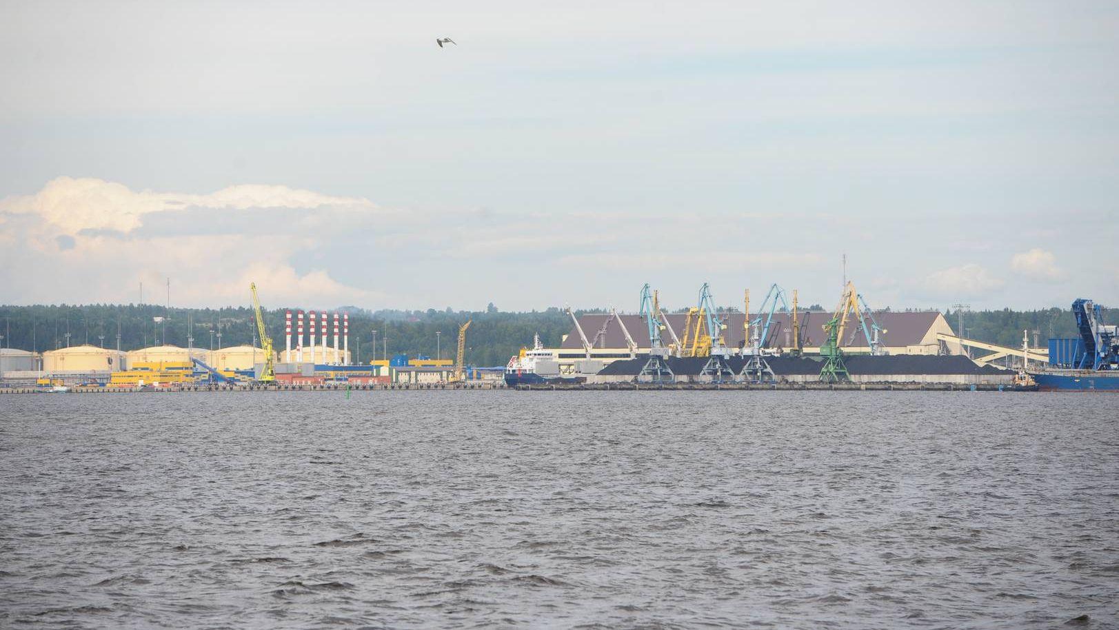 Порт «Усть-Луга»
