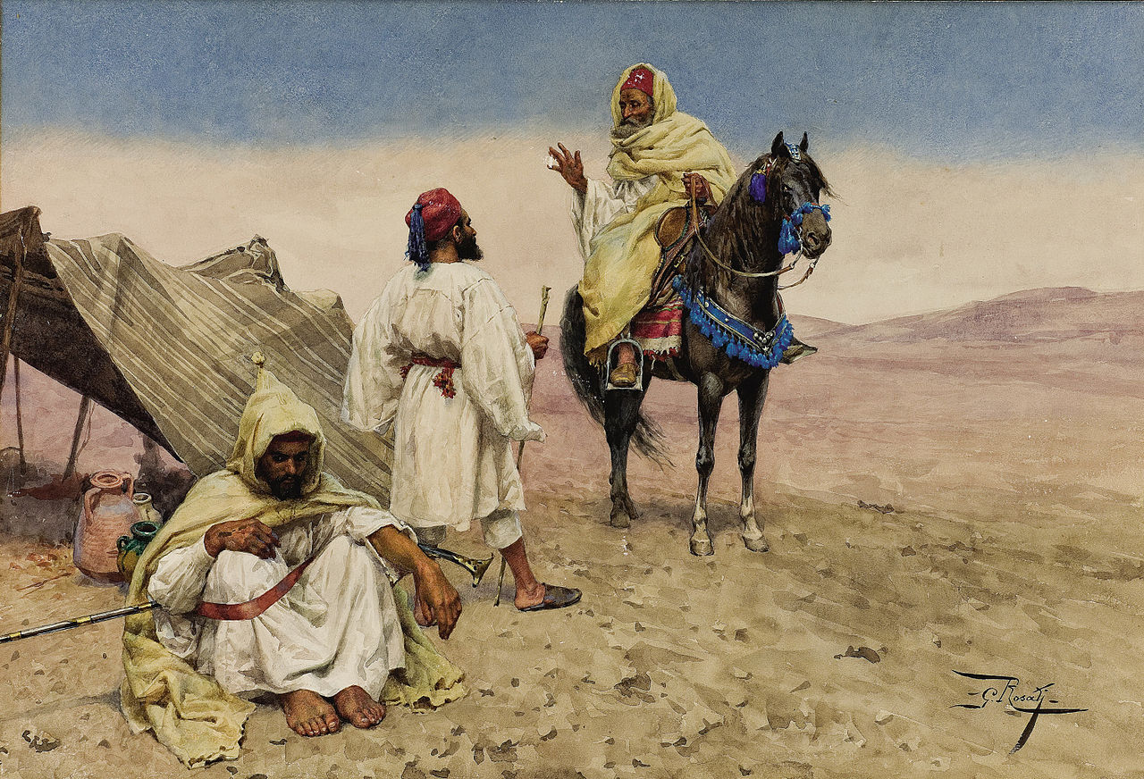 Джулио Розати. Пустынные кочевники