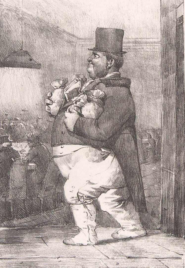 Никола-Туссен Шарле. Лорд Толстые Щёки. 1820-1822