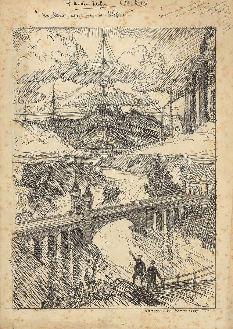 Эдмунд Дж. Салливан. Современная утопия. 1905