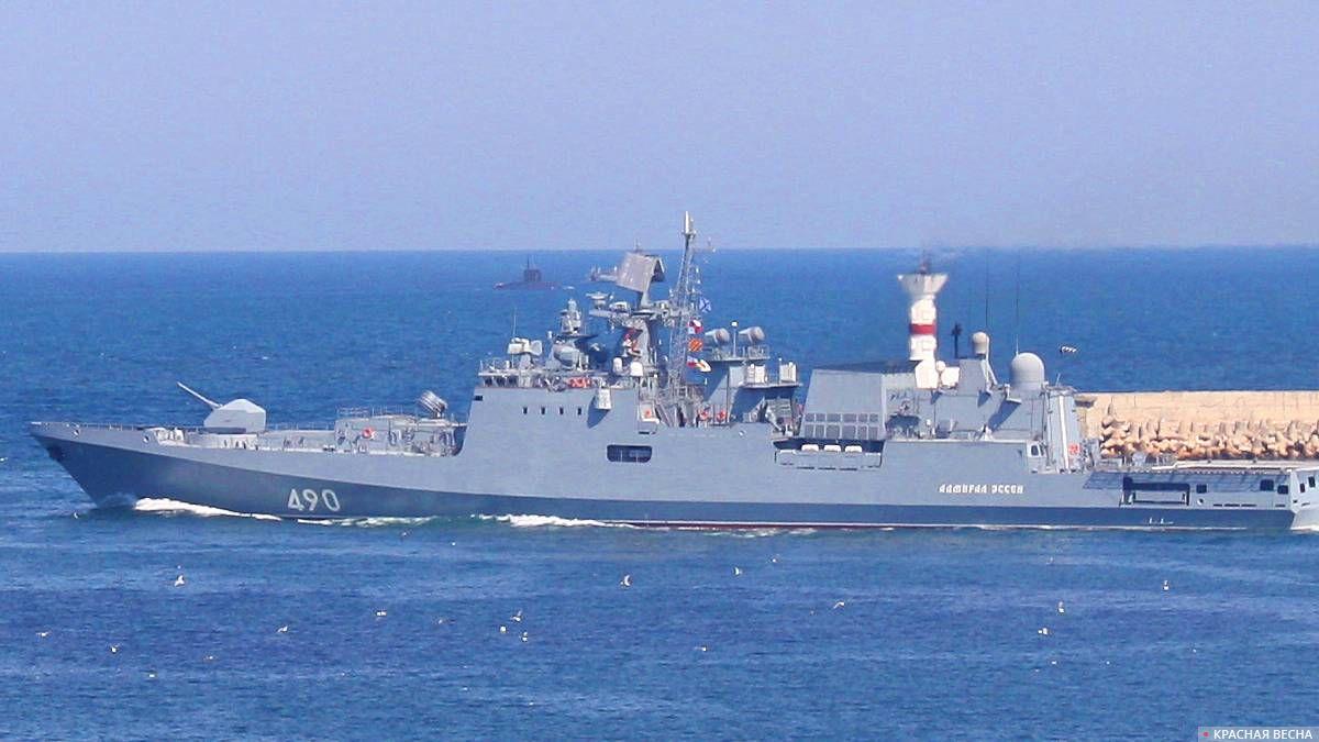 Адмирал Эссен, сторожевой корабль, парад ВМФ 28.07.2019 г. Севастополь