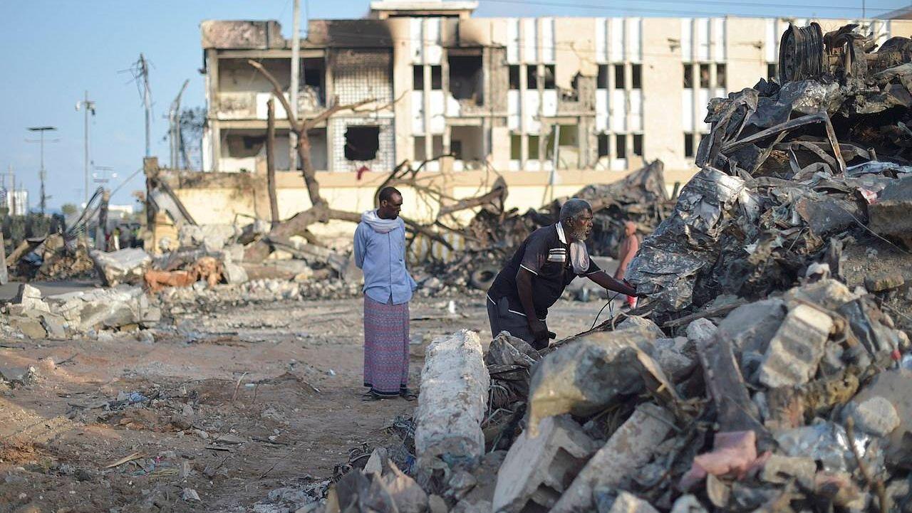 Последствия теракта в Могадишо
