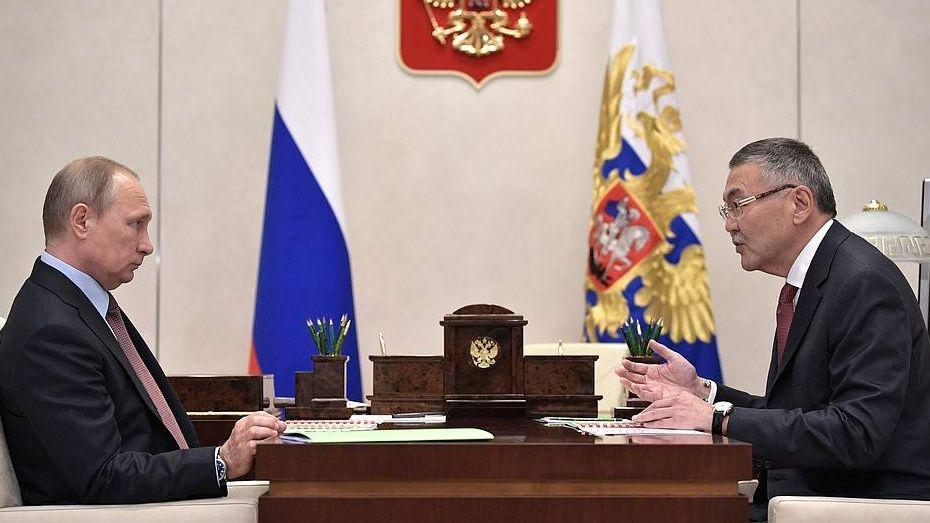 Владимир Путин и Алексей Орлов