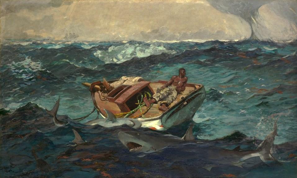 Уинслоу Хомер. Гольфстрим. 1899