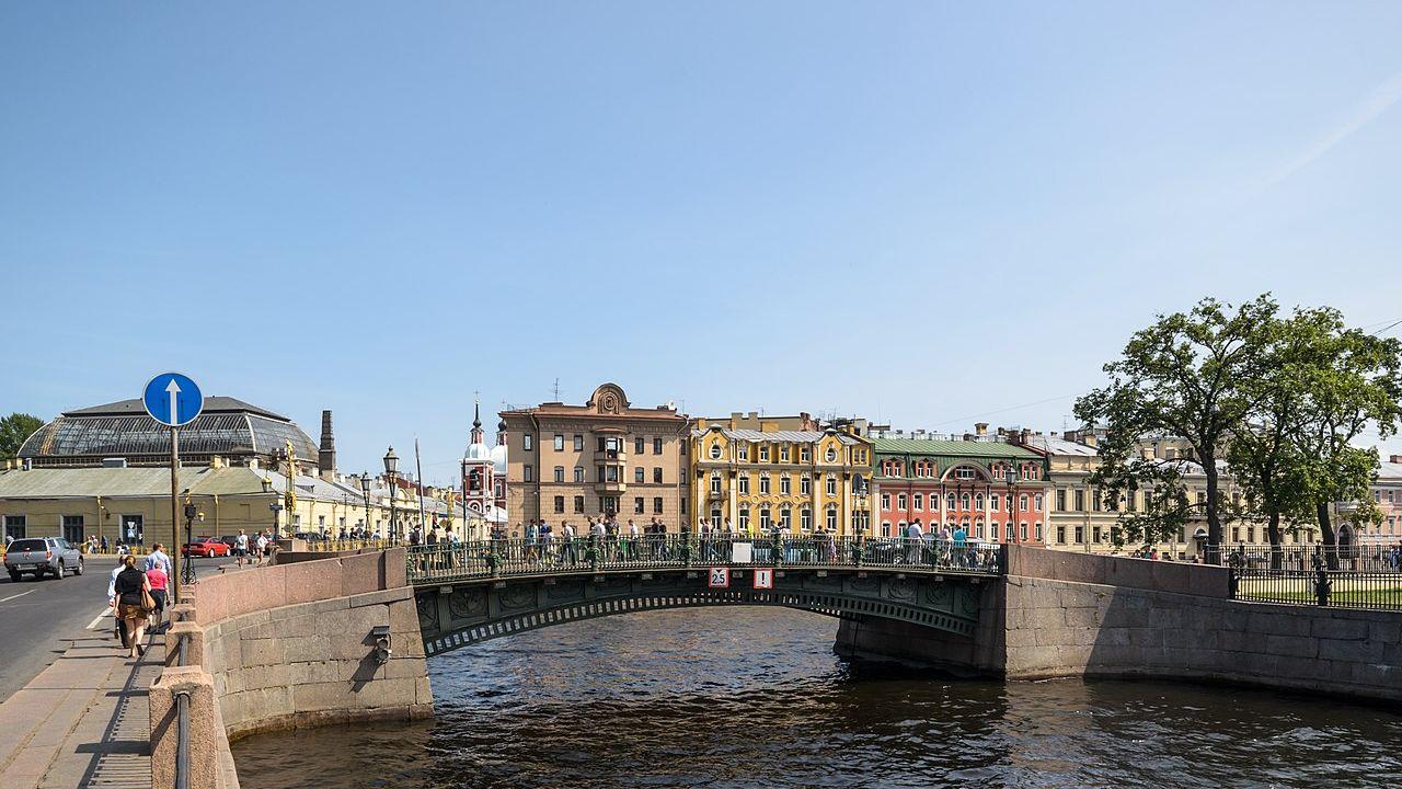 Первый Инженерный мост. Санкт-Петербург