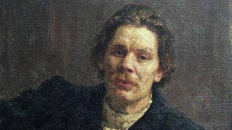 Илья Репин. Портрет Максима Горького (фрагмент). 1899