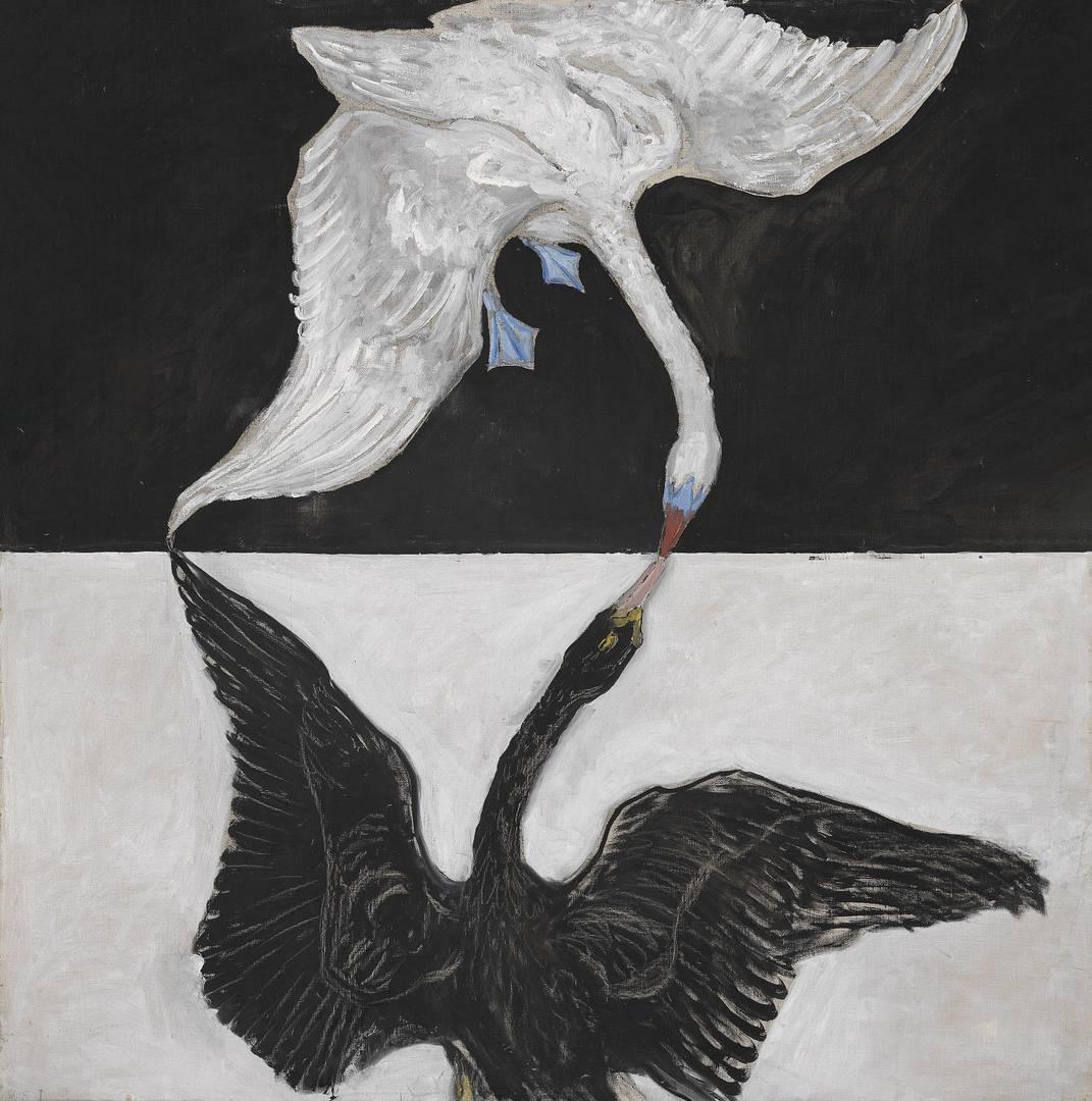 Хильма аф Клинт. Группа IX/SUW, Лебедь, № 1. 1915