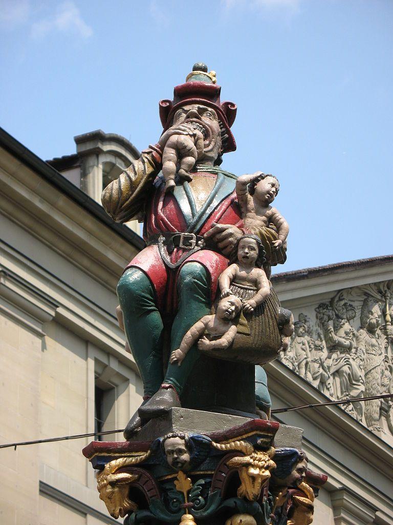 Фонтан Пожиратель детей, Берн, Швейцария