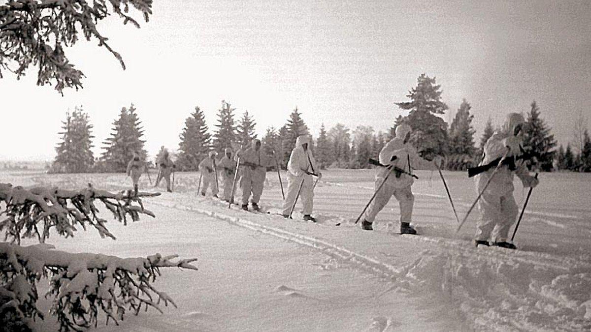 Подразделение лыжников