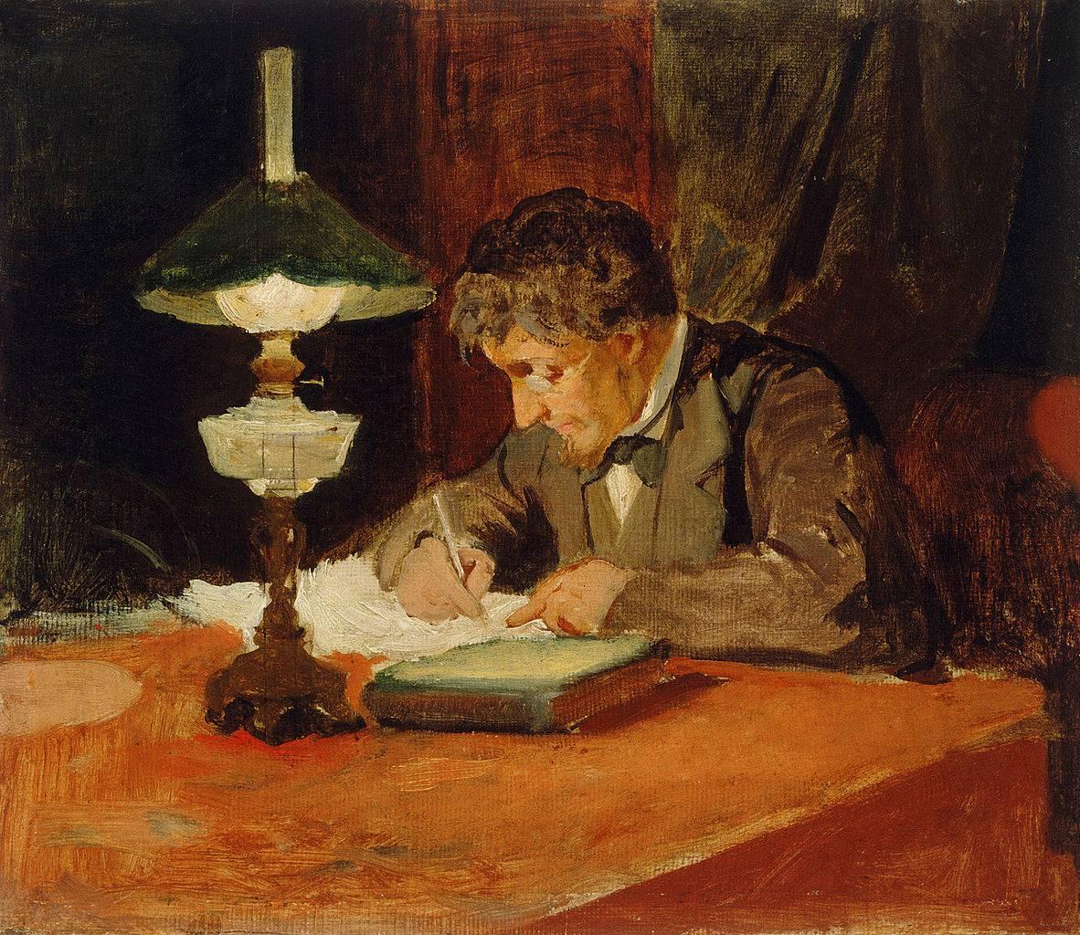 Янез Шубица. Письмо. 1878