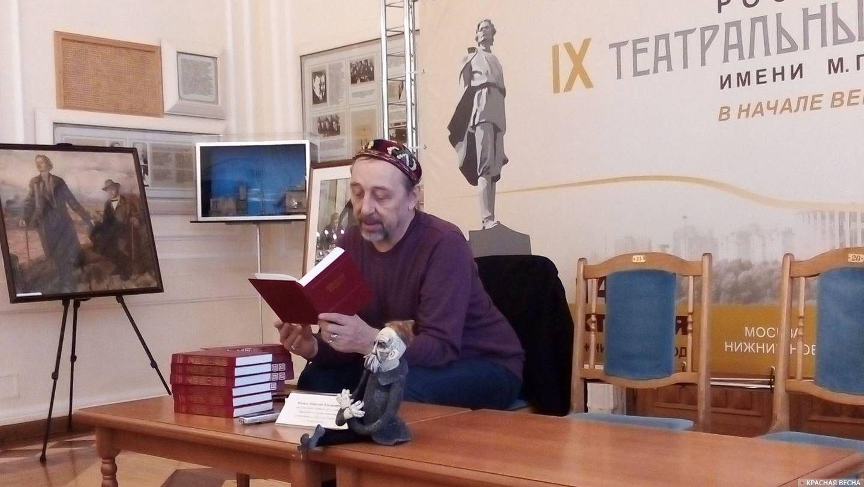 Заслуженный деятель искусств РФ Николай Коляда