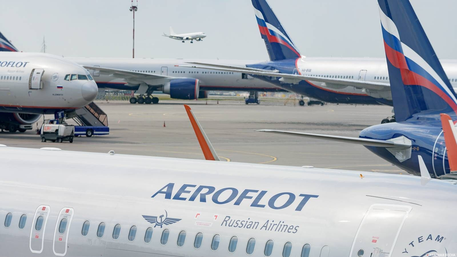 Самолеты авиакомпании Аэрофлот