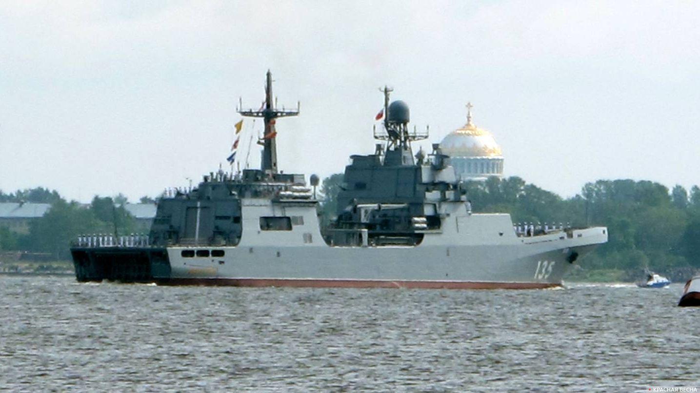 большой десантный корабль пр.11711 Иван Грен