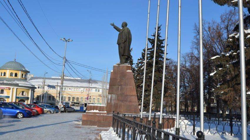 Рязань. Площадь Ленина