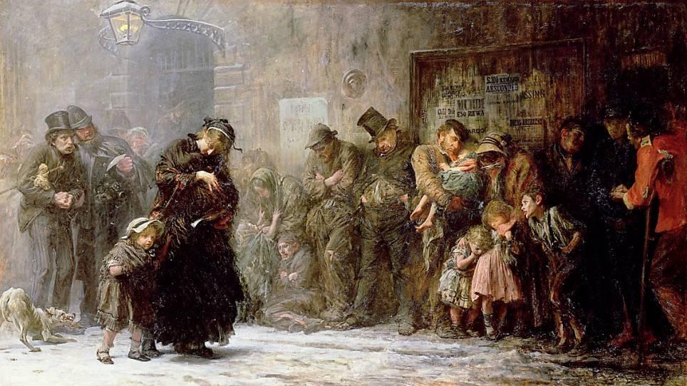 Сэмюэль Люк Филдес. Ночлежный дом. 1874