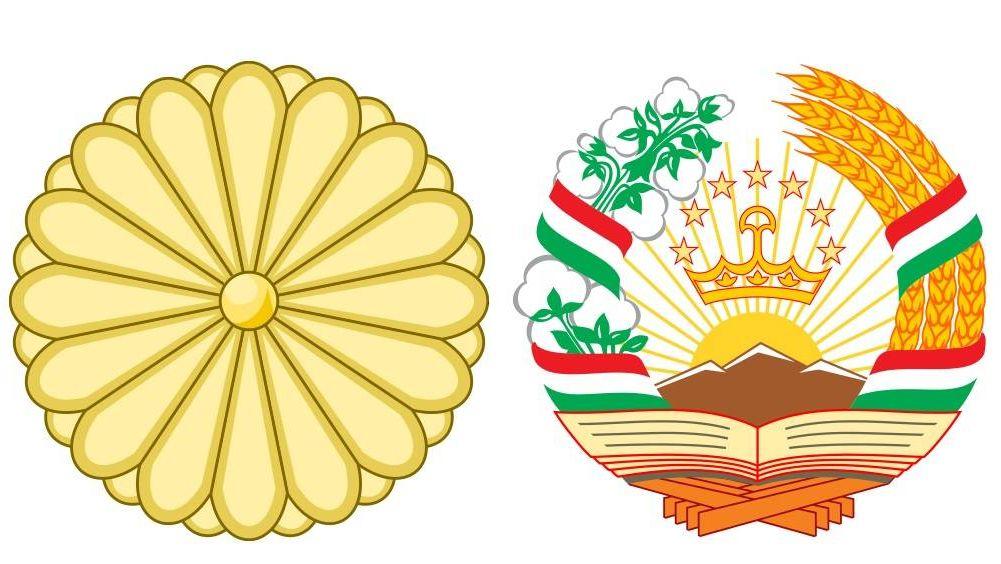 Картинки герба таджикистан переезжаешь мост