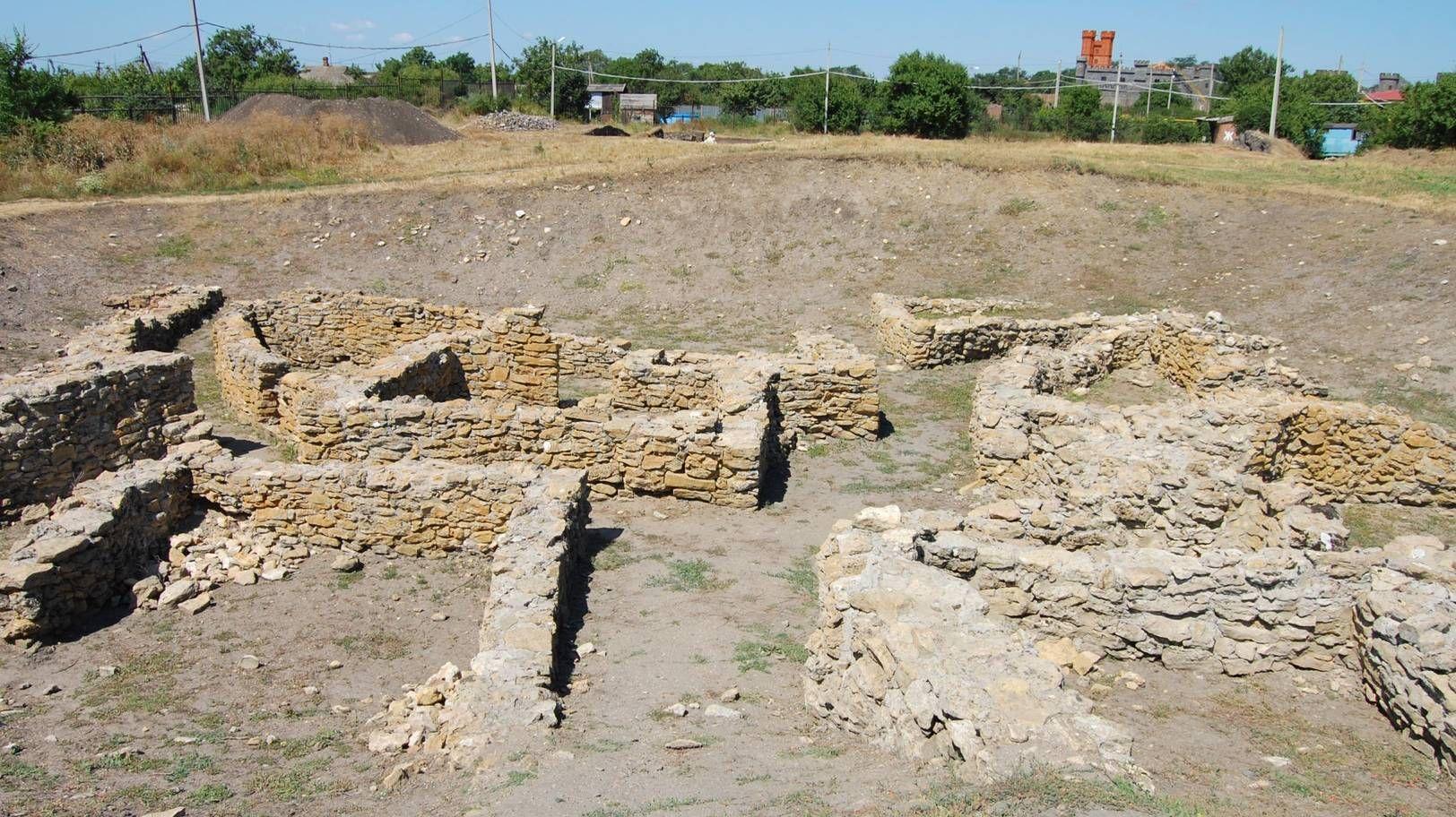 Раскопки античного города