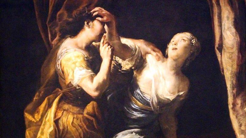 Джузеппе Мария Креспи. Тарквиний и Лукреция (фрагмент)