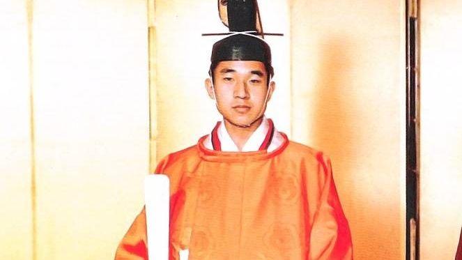 Принц Японии Акихито. 1959