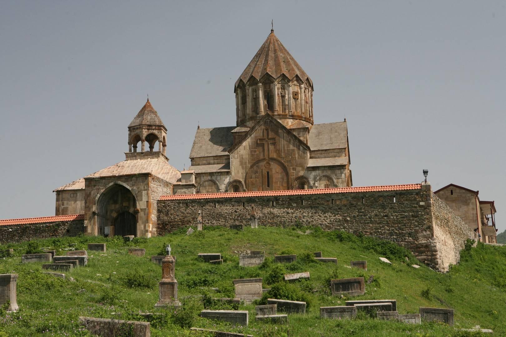Гандзасарский монастырь. XIII в.