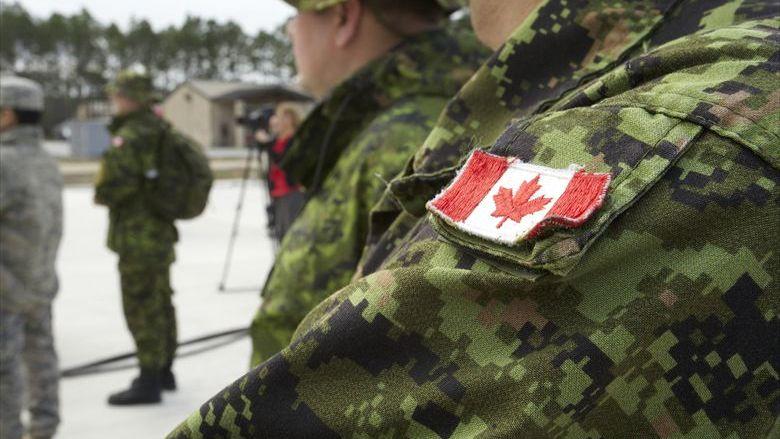 Канадские солдаты