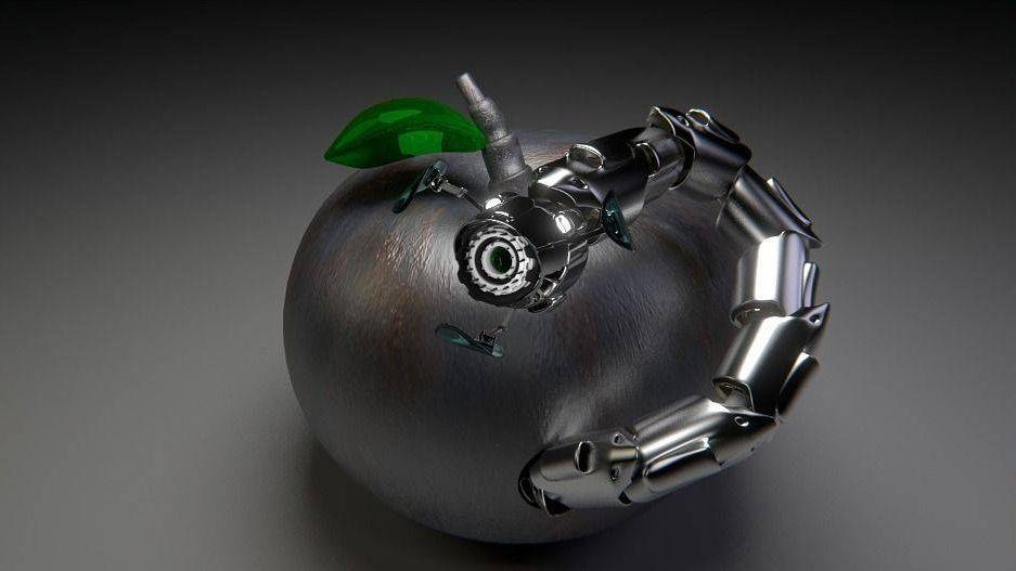 робот-червяк