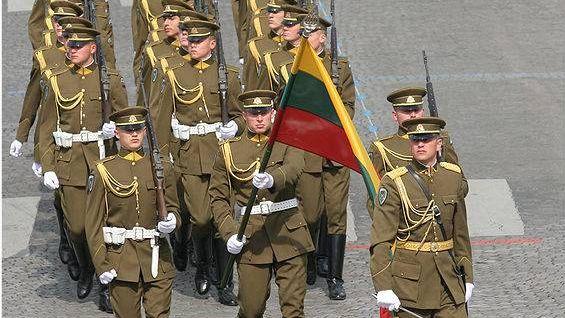 Литовский почетный караул