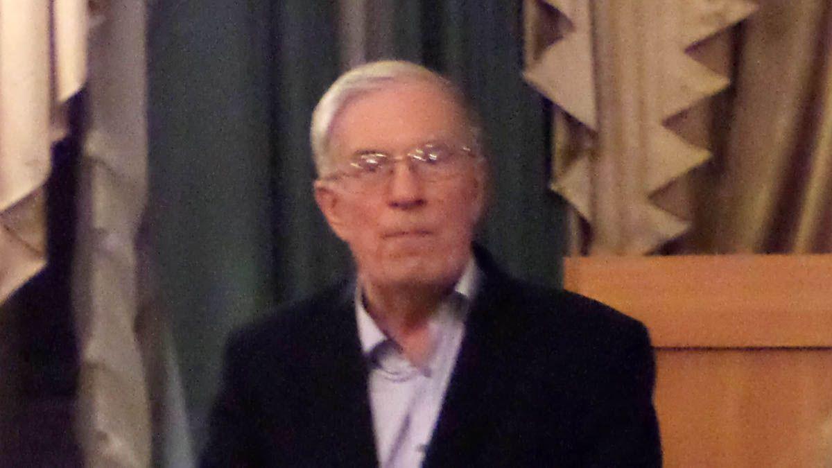 Профессор РХГА Владимир Александрович Щученко. Санкт-Петербург. 14.12.2017