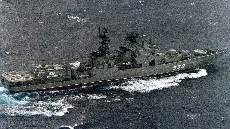 Корабли Тихоокеанского флота уничтожили вражескую подлодку