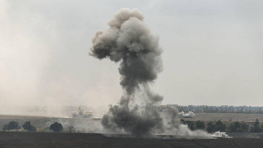 Взрыв ДНР