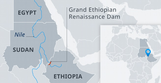 ГЭС «Хидасэ» на Голубом Ниле