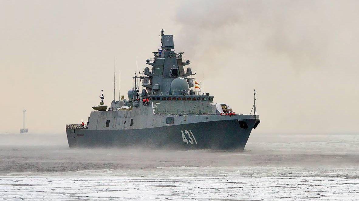 Сторожевой корабль (фрегат) «Адмирал флота Касатонов»