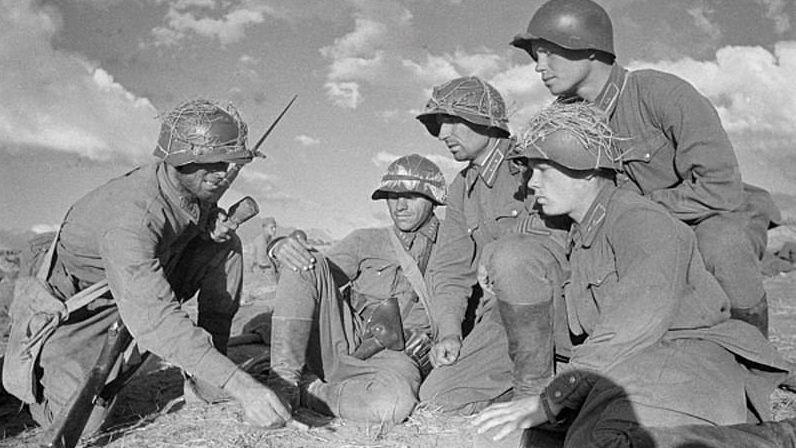 Халхин-Гол. Советские солдаты перед сражением