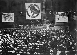 Фото съезда «Антифашистского действия», 1932 г.