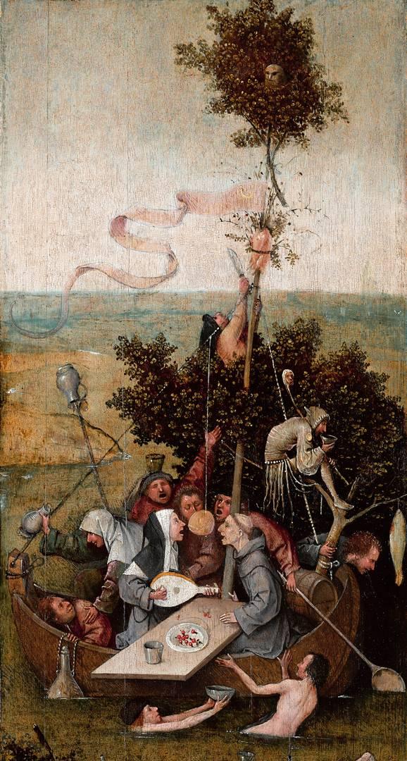 Иероним Босх. Корабль дураков. Около 1494-1510