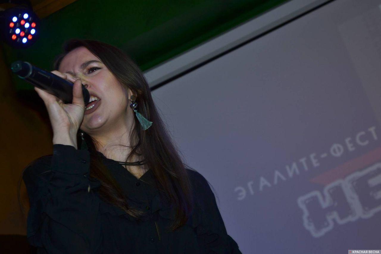 Ольга Полякова, вокалистка группы «Утро в тебе»